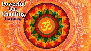 OM Chanting Meditation 108 Times - Very Powerful Meditation - Must Listen - Saashwathi Prabhu