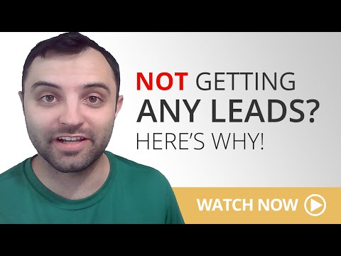 Why You're Not Generating Leads With Your Website