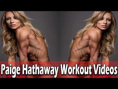 Fitness Goals Women - Paige Hathaway Workout Videos - Gym Goals