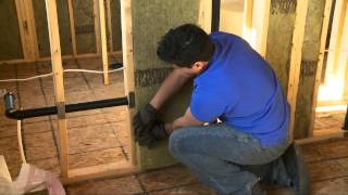 Insulate And Soundproof An Interior Wall Or Room With Roxul