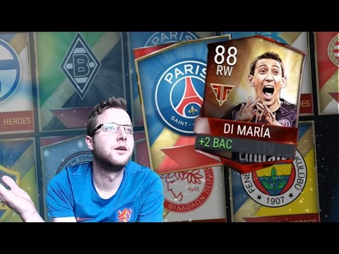 FIFA Mobile 17 The Road to Pulling Every Team Hero! 3 Insane Team Hero Pulls 10 Team Heroes Packs!