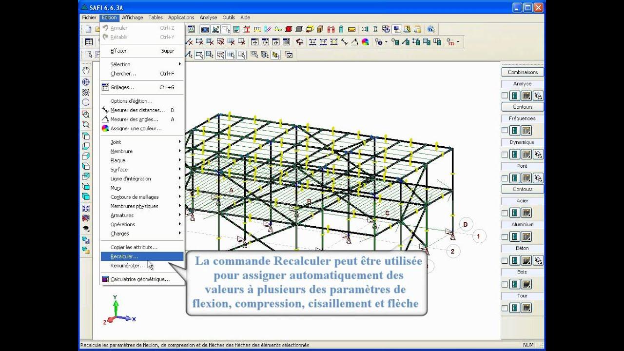 logiciel bois cheap plan de luossature bois with logiciel bois logiciel de calcul de structure. Black Bedroom Furniture Sets. Home Design Ideas