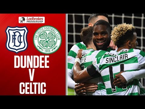 Dundee 05 Celtic  Five players scored for rampant Celtic  Ladbrokes Premiership