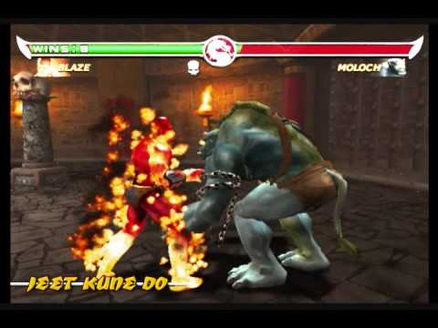 MORTAL KOMBAT DEADLY ALLIANCE played as BLAZE 2/2 - YouTube