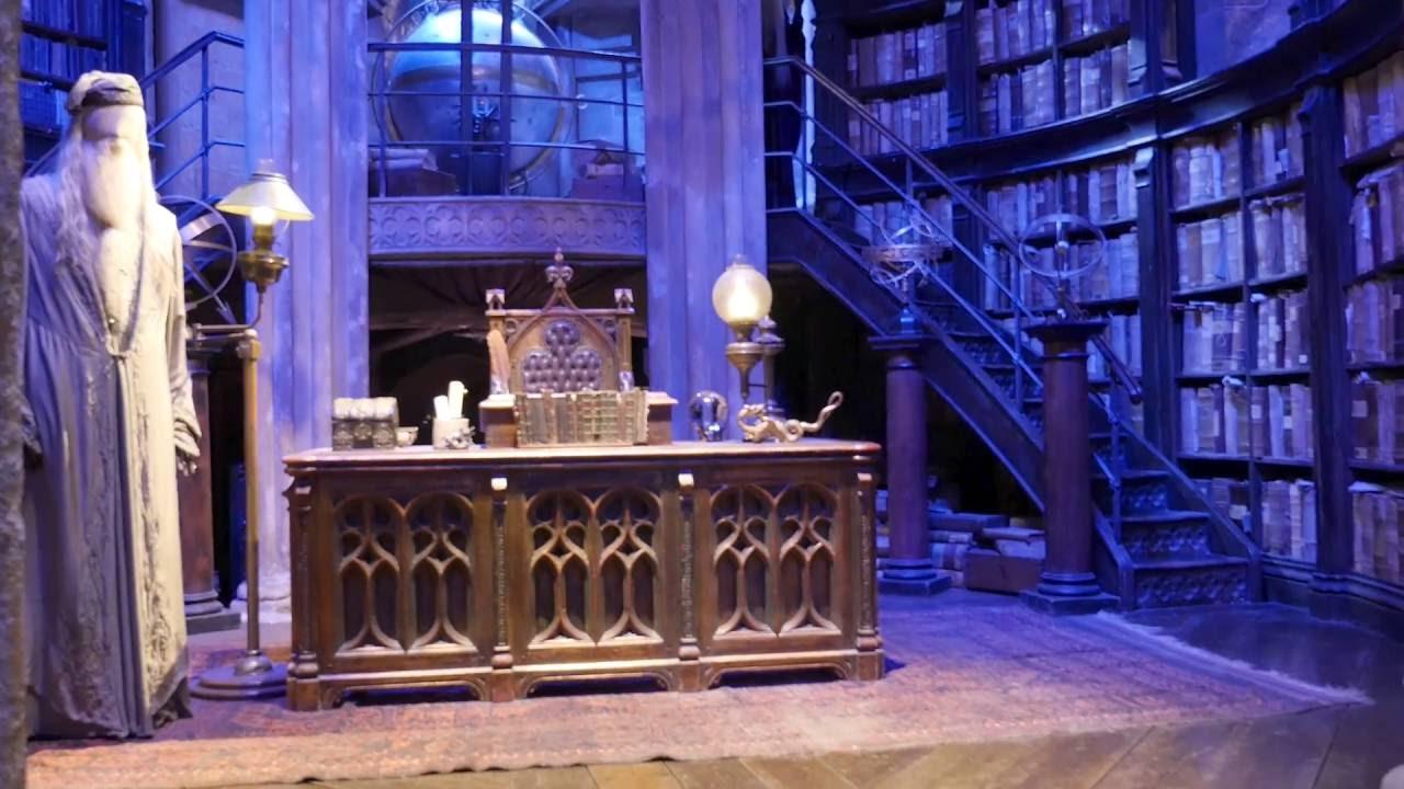 Professor Albus Dumbledore Office in Hogwarts