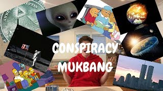 EATING AND DEBUNKING CONSPIRACY THEORIES | ROBERT POYNTER