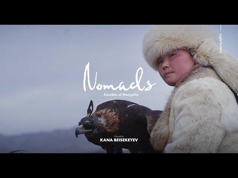 The Kazakhs Of Mongolia: EAGLE HUNTERS (English Subtitles)