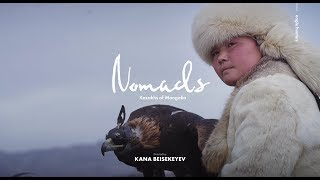 The Kazakhs of Mongolia: EAGLE HUNTERS (English subtitles)