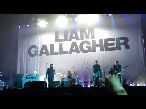 Be here now Liam Gallagher live in Shenzhen 0812