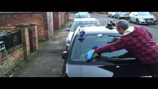 How to professionally change a windscreen - by Andy Windscreens