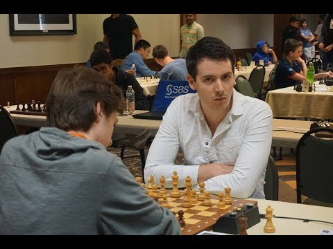 GM Huschenbeth vs. GM Gordievsky U.S. Masters 2017