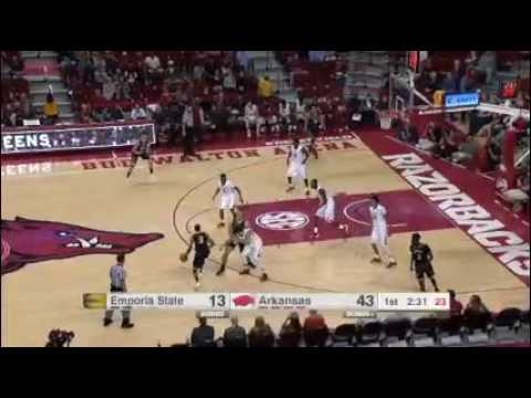 Arkansas vs Emporia State edited McLemore playing time Nov 2016