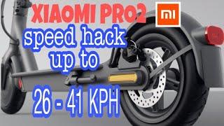 SPEED hack up to 26- 41KPH. M365 XIAOMI PRO 2 screenshot 3