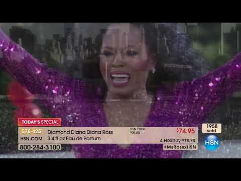 HSN | Diana Ross Fragrance Premiere 12.05.2017 - 12 AM