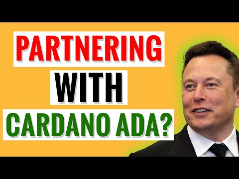 MUST SEE! Is Elon Musk Partnering With Cardano ADA?!