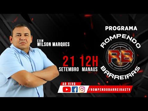 PROGRAMA ROMPENDO BARREIRAS 21/09/2021