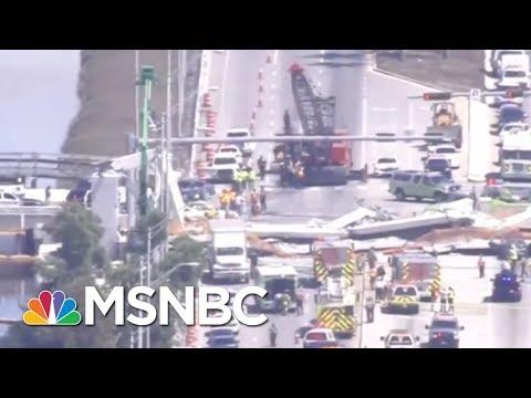 Pedestrian Bridge Collapses In Florida | MSNBC