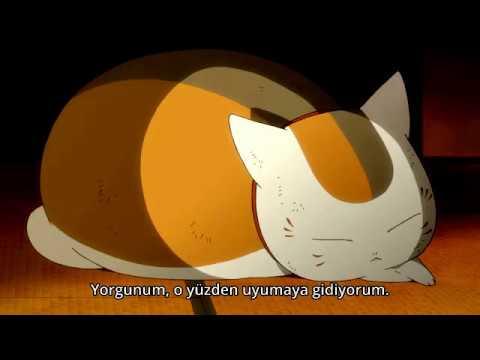 Natsume and Nyanko sensei friendly moment