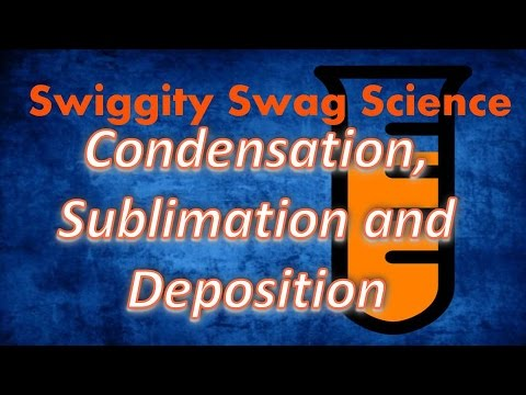 condensation sublimation and deposition: screen cast lecture