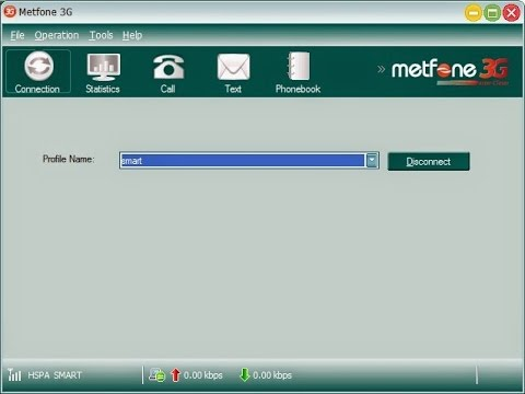 How to use Modem Metfone without SIM
