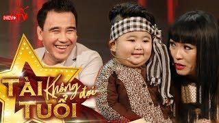 """MC Quyền Linh """"bối rối nhẹ"""" với thần đồng Tin Tin 4 tuổi."""