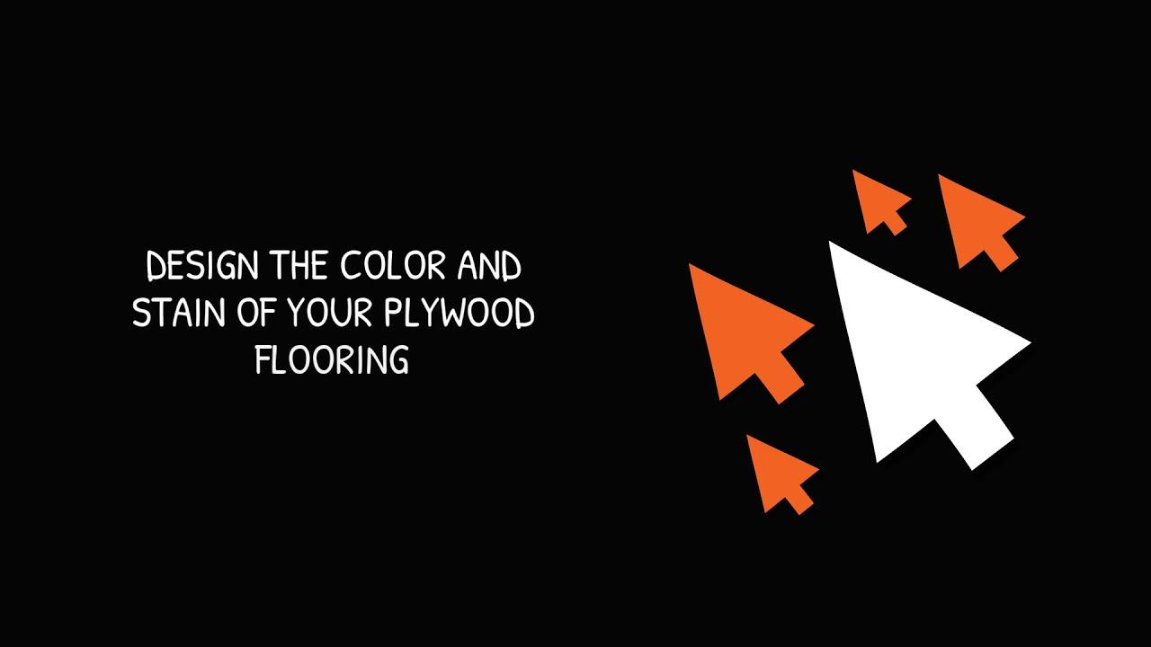 20 PLYWOOD FLOORING IDEAS