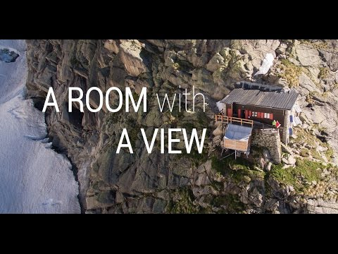 A room with a view - Rifugio Boccalatte - Mont Blanc