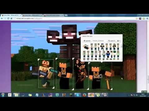 Wallpaper e avatar maker minecraft d youtube - Minecraft wallpaper creator online ...