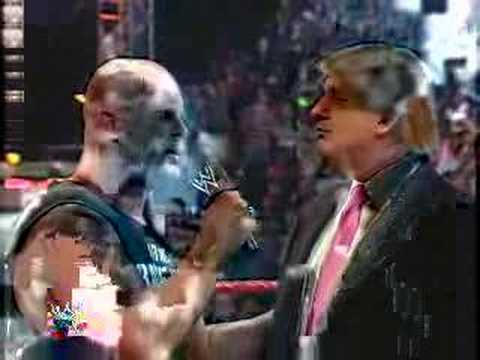 Donald Trump Signs Contract for WWE WrestleMania 23