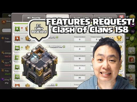 Features Request - Clash Of Clans 158
