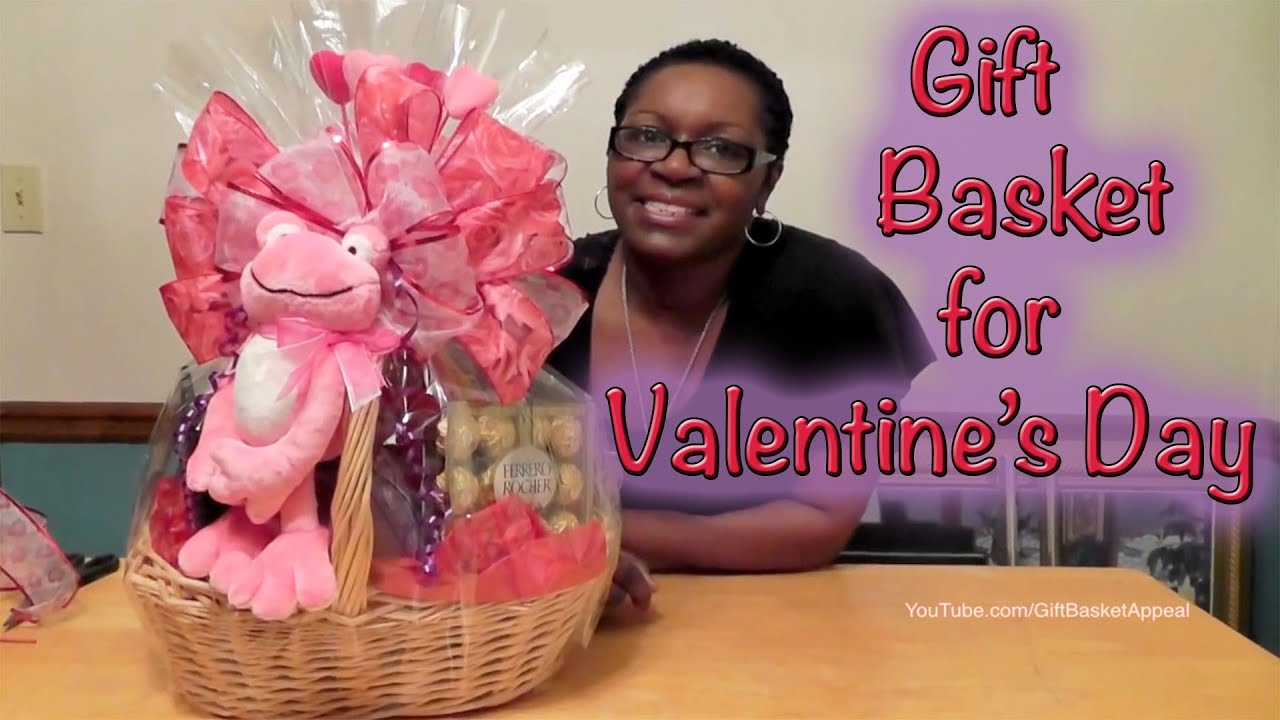 Diy Valentine S Day Gift Basket Dollar Tree Dollar