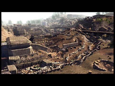 Huge American Trench System - Intense Infantry Only Fight | Men of War Assault Squad 2 Mod Gameplay