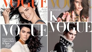 Kendall Jenner - All Her Vogue Covers