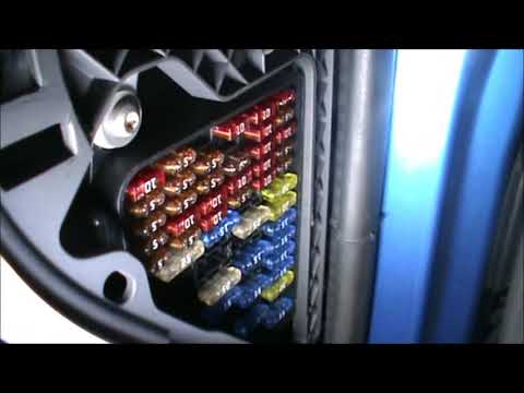 VW Polo 2003 1.4 Fuses Location