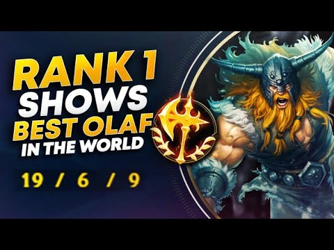 19 KILLS ON OLAF JUNGLE IN CHALLENGER?! | League Of Legends