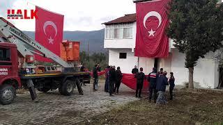 Pamukovalı Şehit Halil Demir'in baba oacağı şehidi için hazırlanıyor