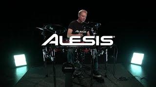 Alesis Crimson II Mesh Electronic Drum Kit - kit sounds | Gear4music demo