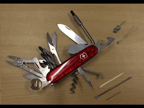 Victorinox Cybertool 34 Unboxing Youtube