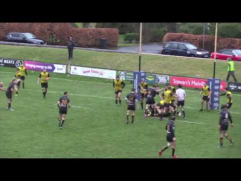 Melrose v Currie Chieftains 26 January 2019