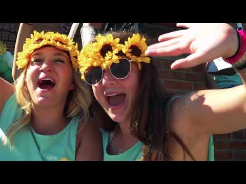 University of Cincinnati Kappa Kappa Gamma Bid Day 2017