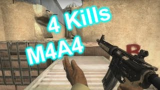 CS:GO - 4 Kills M4A4 [MatchMaking]
