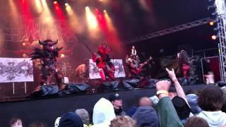GWAR intro + Horror of Yig (usama intro) @ Sweden Rock Festival 9/6 2011