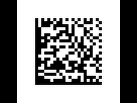 Free 2D Barcode Datamatrix in Excel