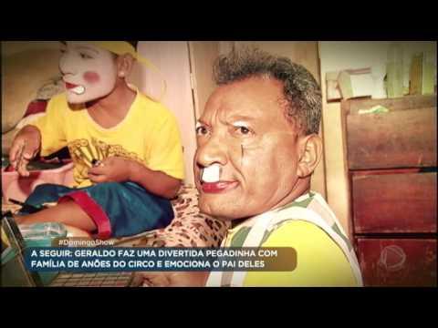 Geraldo Luís vai ao sertão conhecer família de anões circenses