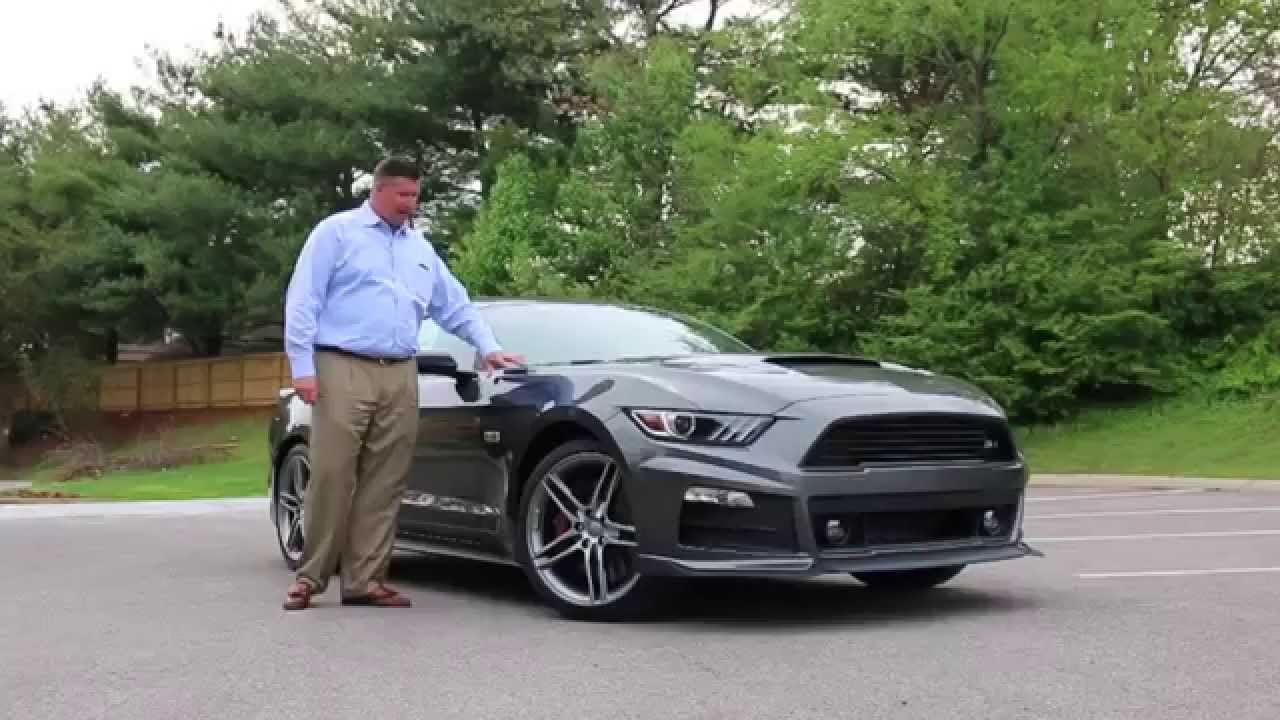 2015 Roush Stage 2 Ford Mustang GT  YouTube