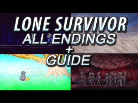 Lone Survivor Director's Cut - ALL 5 Endings Guide/Walkthrough (PS3/Vita/PC)