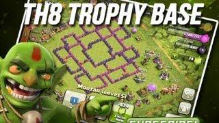 Clash of Clans   TH8 Cup Base Design   Trophy Base Design   Hybrid Base Design