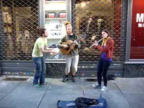 Street music in Turin - Take Five