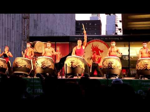 九天-紐約. 九天民俗技藝團撼動紐約精彩片段(後)
