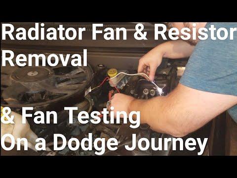 How to: Remove Radiator Fan & Resistor